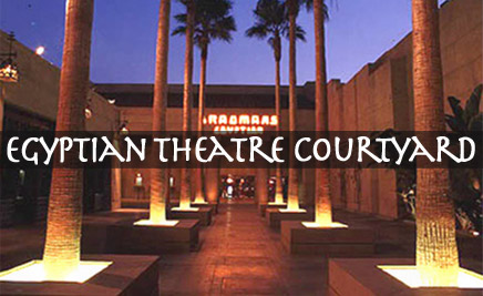 Grauman's Egytian Theatre Courtyard